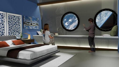 【人類初】地球が一望できちゃう!宇宙ホテルがまもなく建築開始