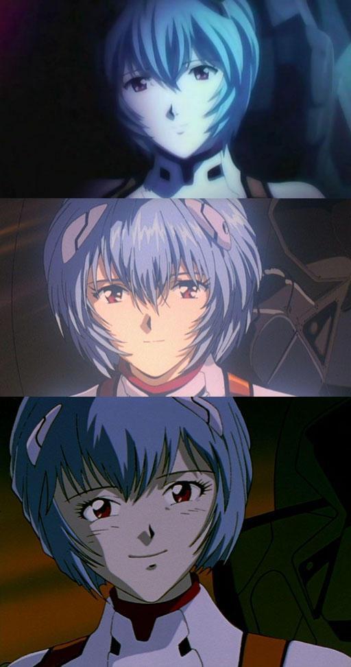 【ニチャァ】碇シンジの「笑えばいいと思うよ」に対しての綾波レイの顔