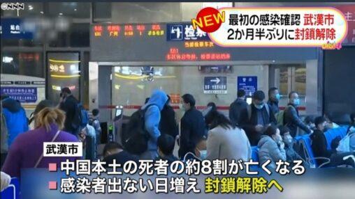【ウイルス!】中国では死者の8割が亡くなっています。