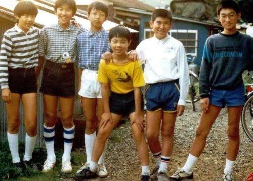 【おっさん顔!】昭和の小学生の私服