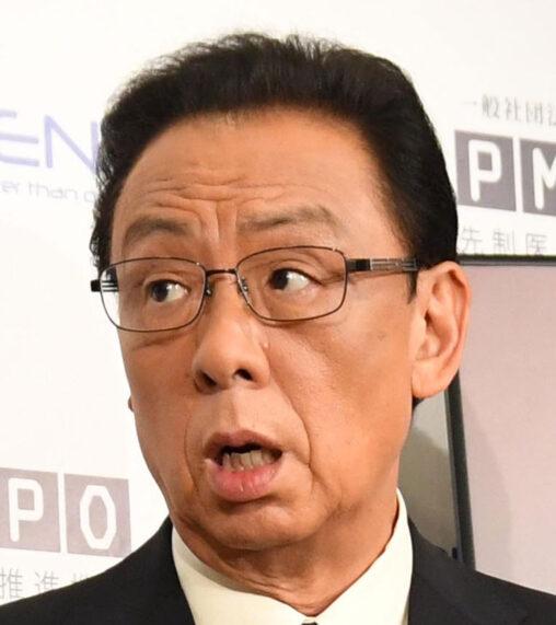 梅沢富美男、罰ゲームに激高!「男は肛門の前にあるんだよ、ひとつ大事なものが!」