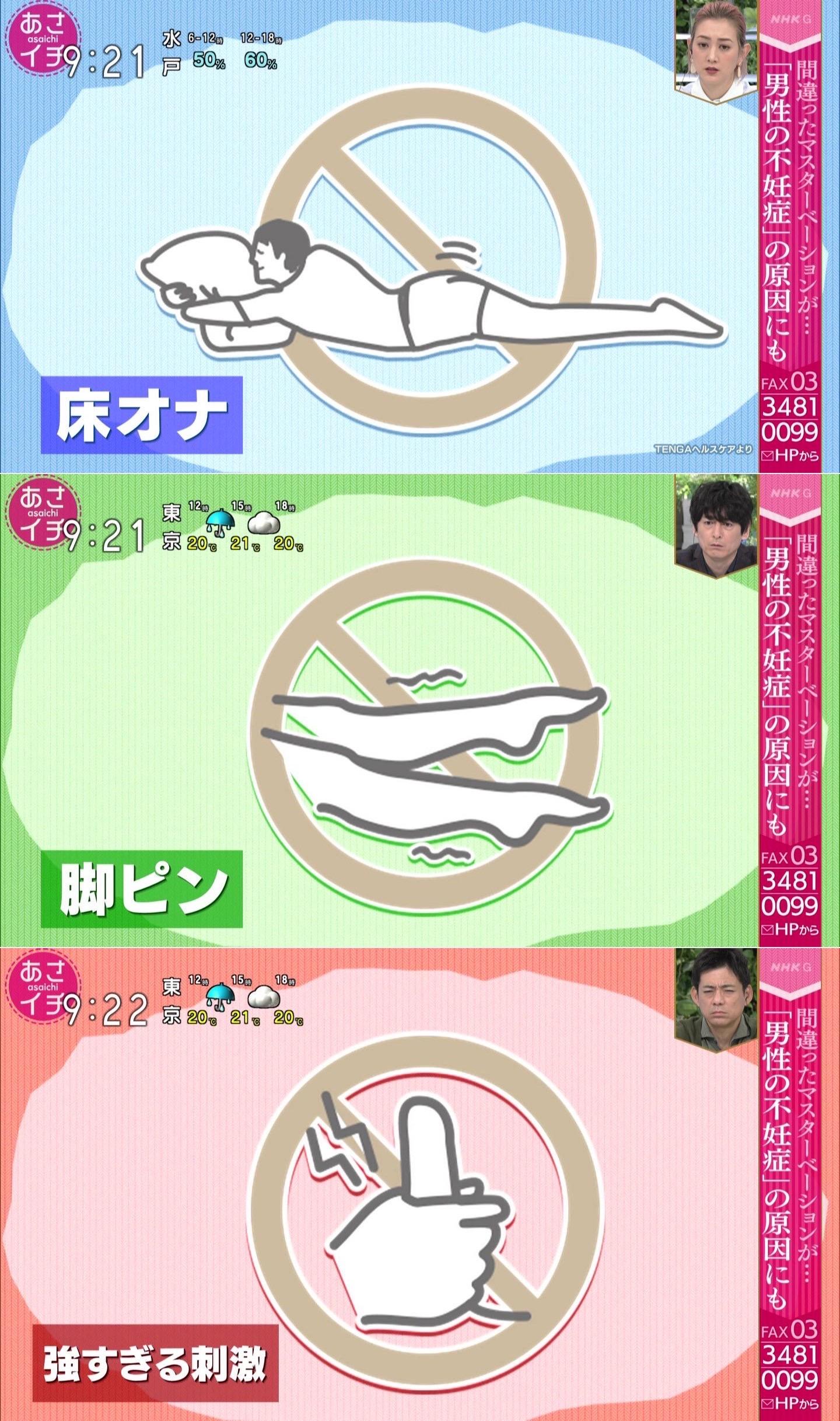 【原因】間違ったオナニーのせいでセ〇クスでイけない男性急増、NHKが特集
