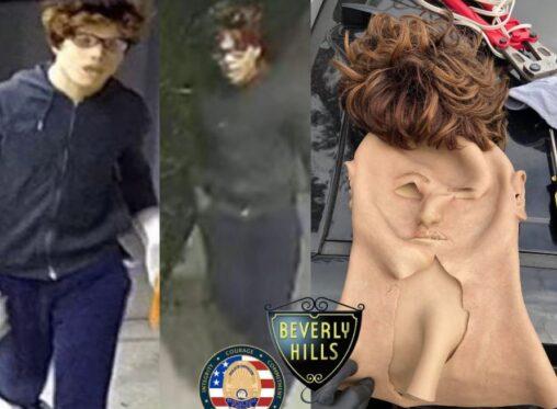 【ロサンゼルス!】黒人様、白人マスクを被って連続強盗