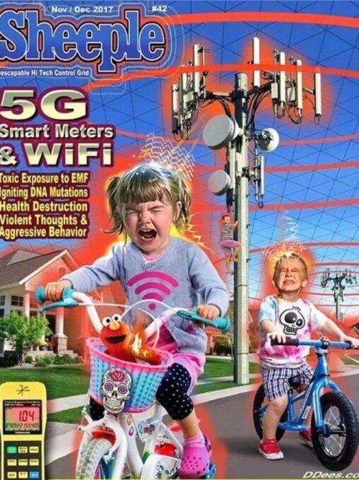 【電磁波!】アメリカ公式、5Gの危険性を喚起したポスターを公開
