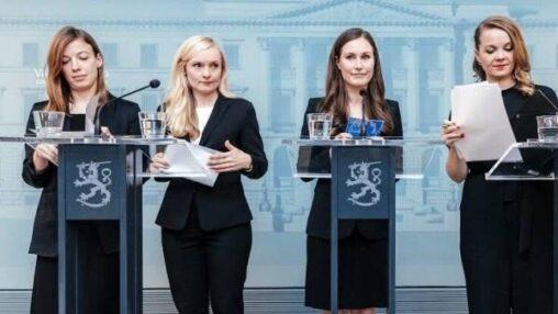 フィンランド政府、女性さんに乗っ取られるwww