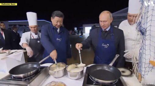 【友達】プーチンと習近平、一緒にパンケーキ作るほど仲が良かった