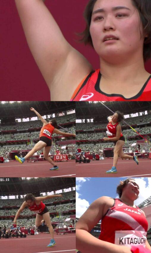 【北口榛花】女子やり投げ、前回の東京オリンピック以来の決勝進出(57年ぶり)、しかもめちゃくちゃ可愛いと話題に
