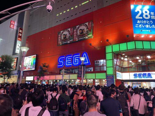 【画像】ゲームセンターの聖地「セガ池袋GiGO」が本日閉店!ファンが大勢つめかけとんでもないことに
